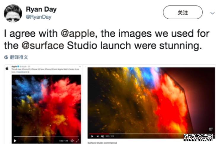 这就尴尬了!微软高管嘲讽苹果抄袭反被打脸:苹果广告用得更早