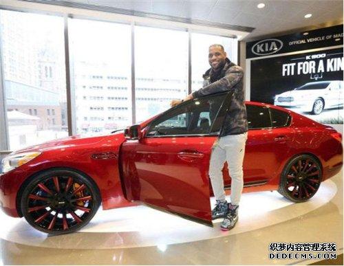 科比、詹皇领衔!NBA球星都代言过哪些车企品牌?